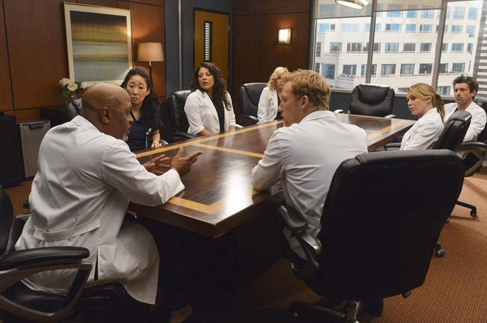 Grey's Anatomy: una scena dell'episodio We Are Never Getting Back Together