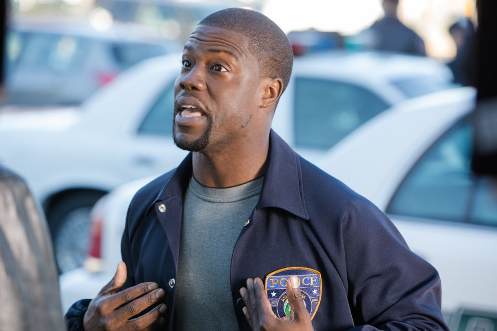 Poliziotto in prova: Kevin Hart in una scena del buddy-cop movie