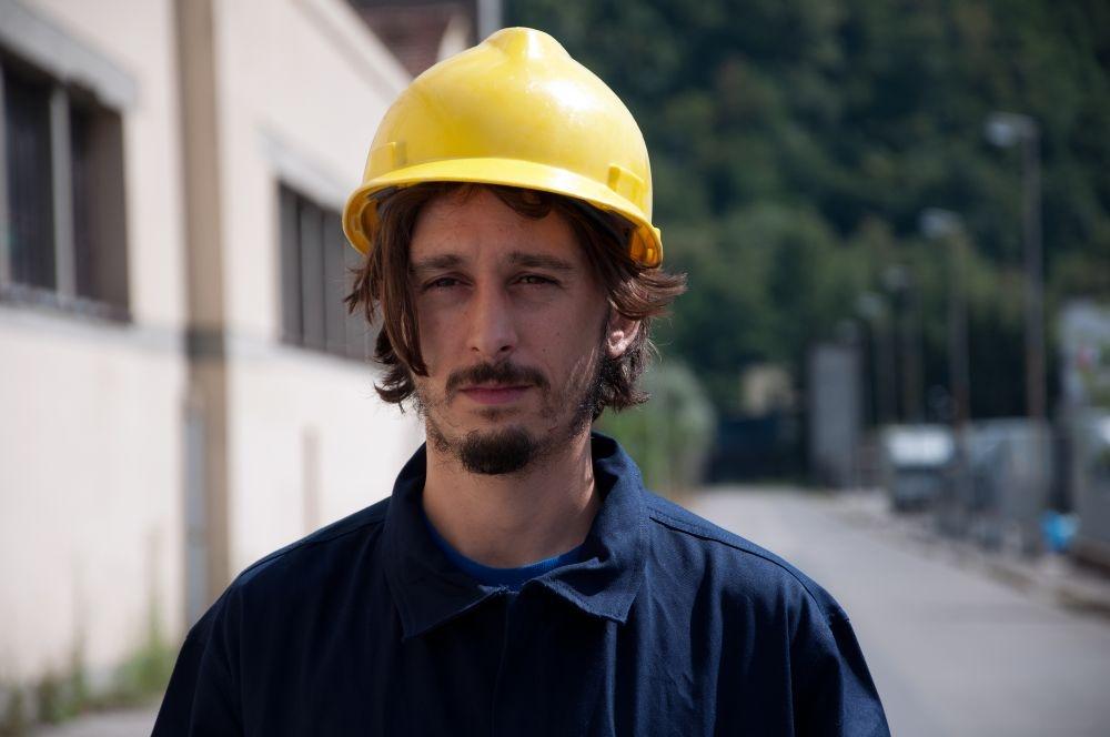 Sogni di gloria: Gabriele Pini in un'immagine del film