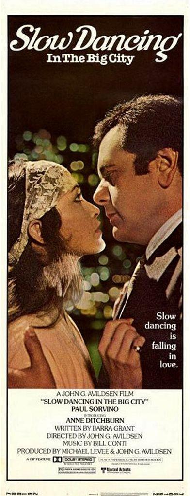 Ballando lo slow nella grande città: la locandina del film