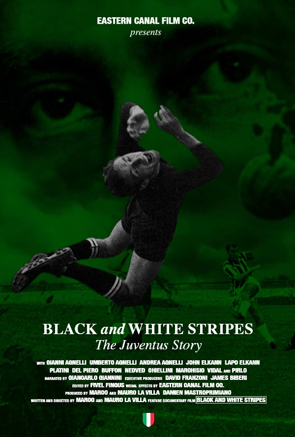 La locandina di Black and White Stripes: The Juventus Story