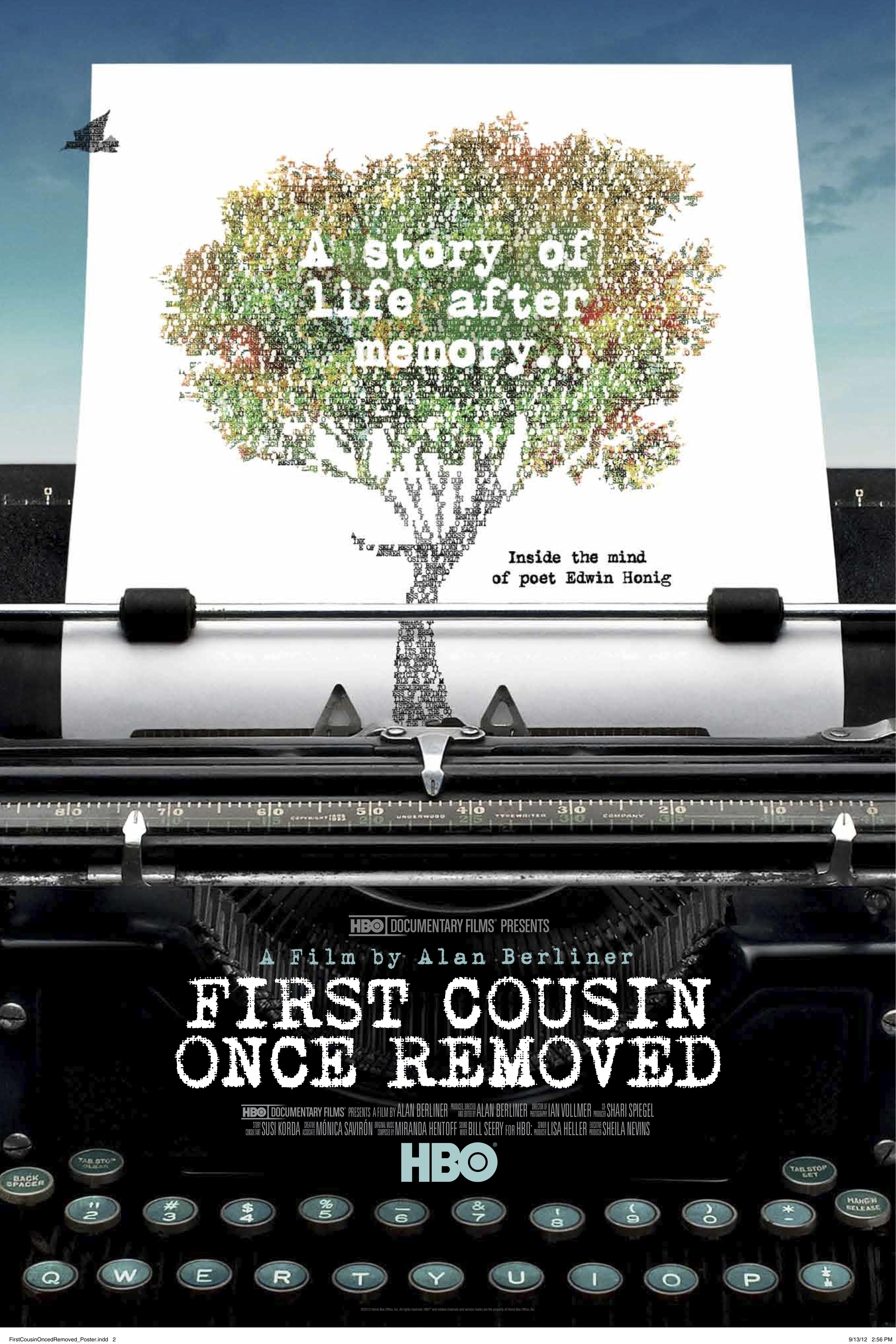 La locandina di First Cousin Once Removed