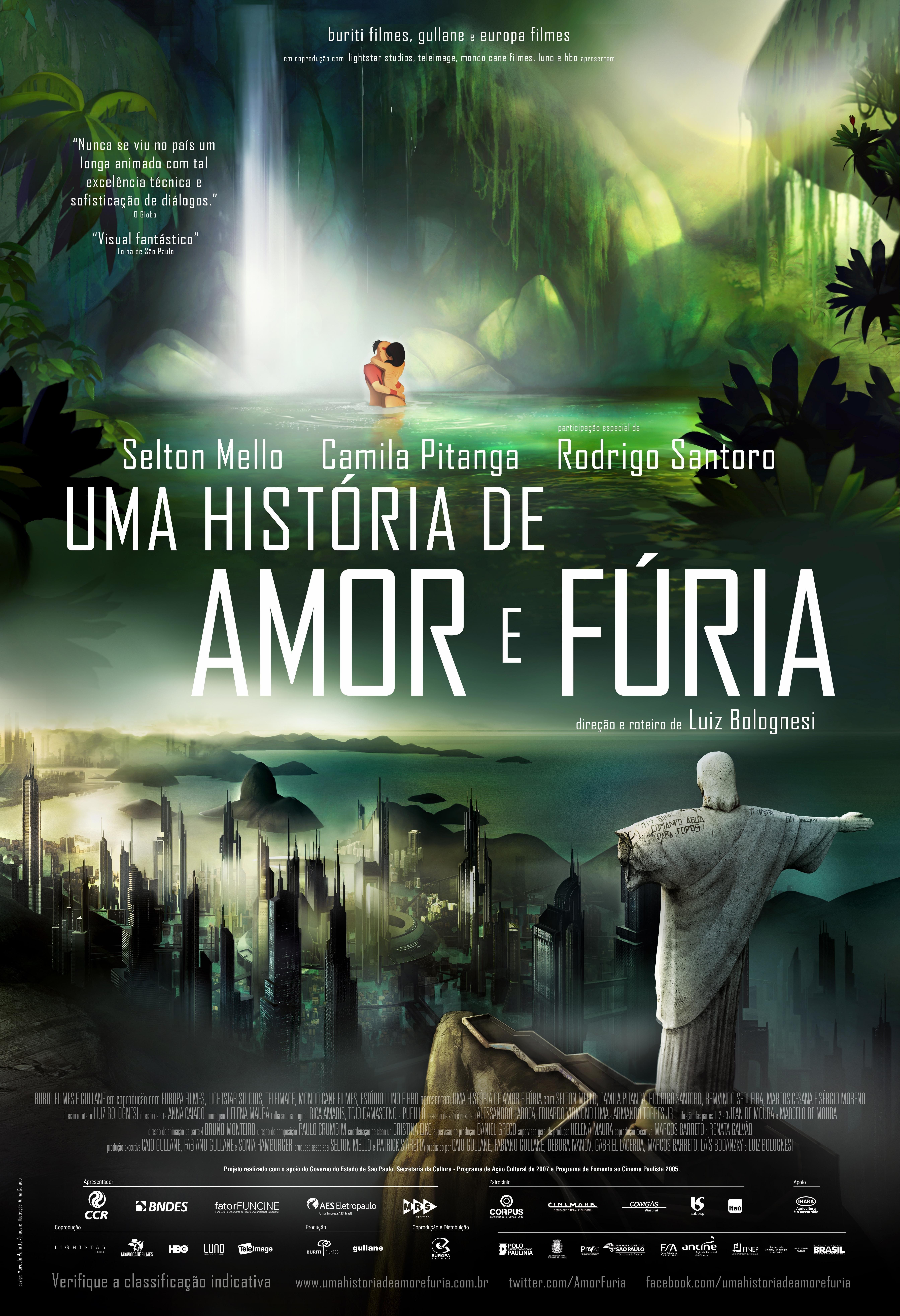 La locandina di Rio: 2096 A Story of Love and Fury