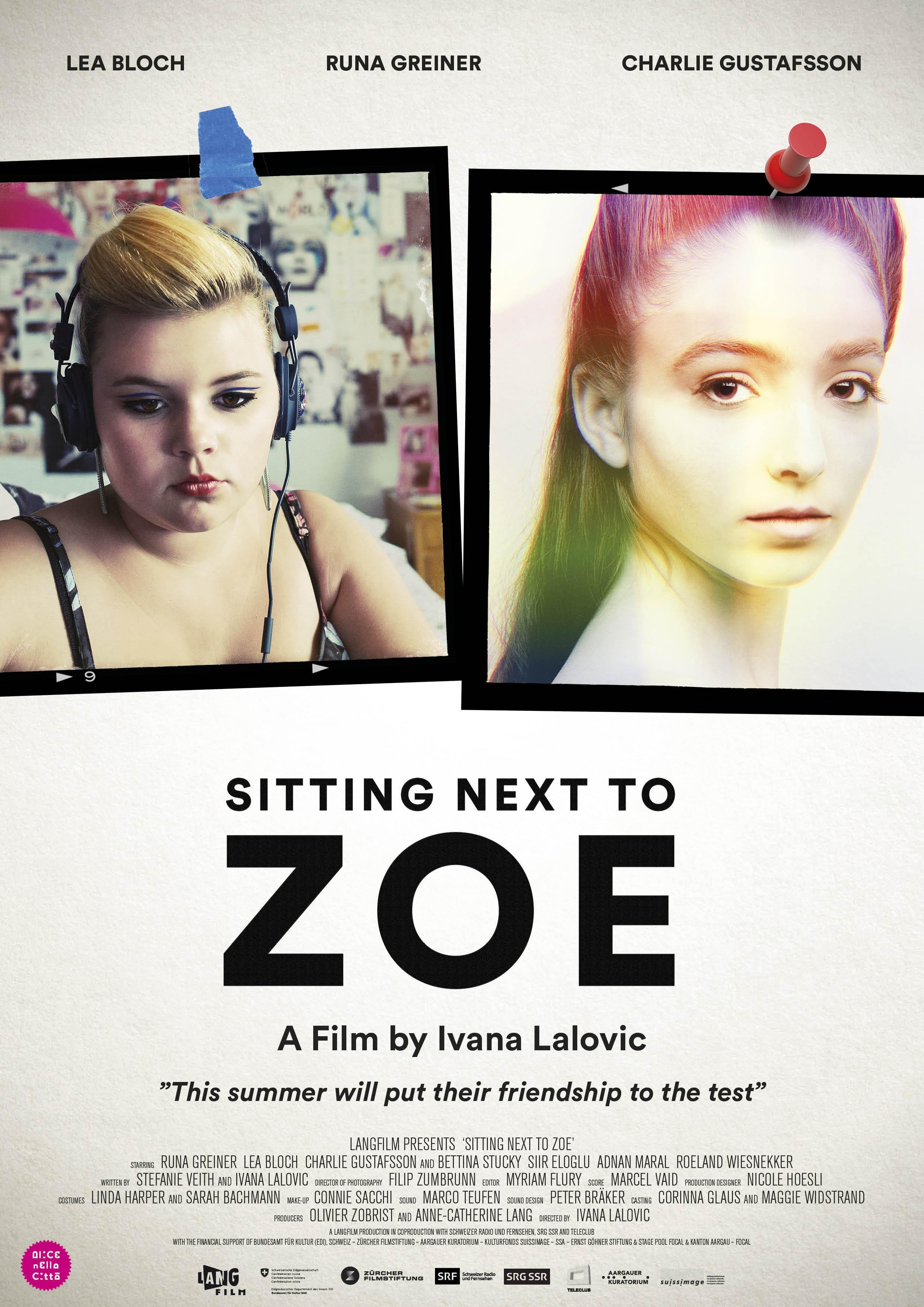 La locandina di Sitting Next to Zoe