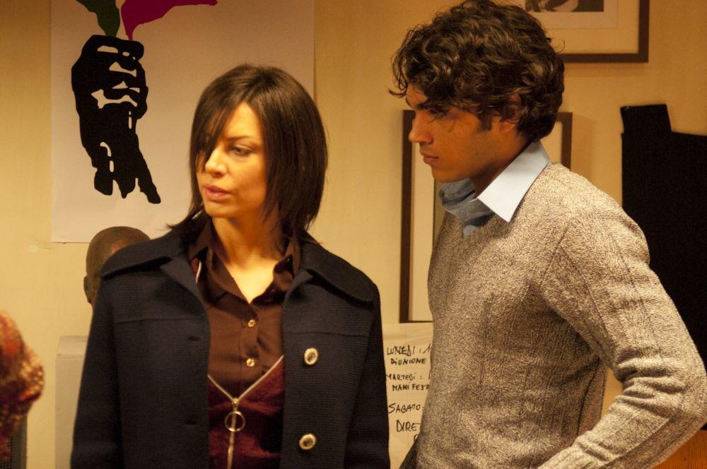 Bologna 2 Agosto... i giorni della collera: Marika Frassino e Giuseppe Maggio in una scena del film