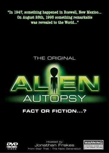 La locandina di Alien Autopsy: (Fact or Fiction?)