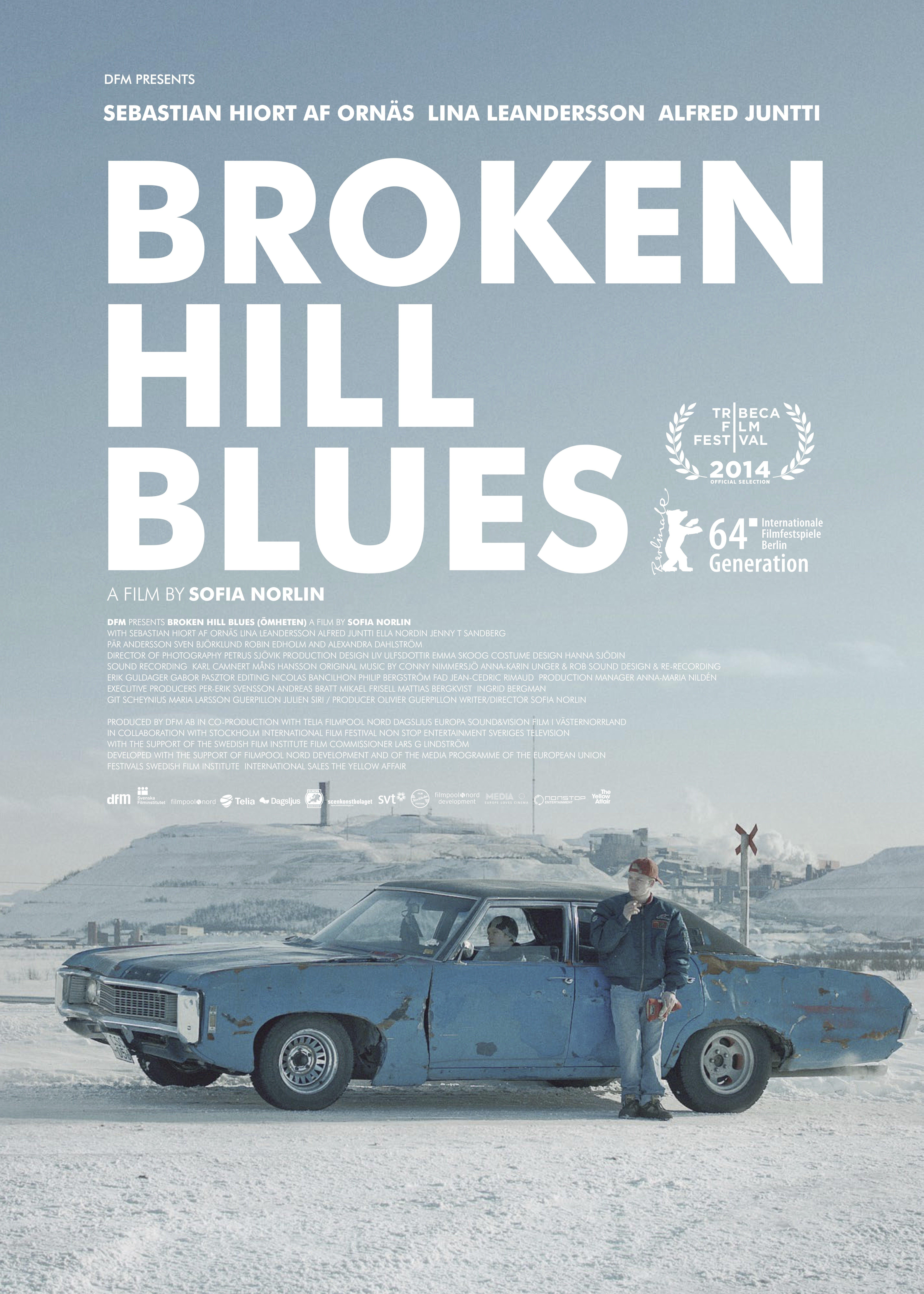 La locandina di Broken Hill Blues