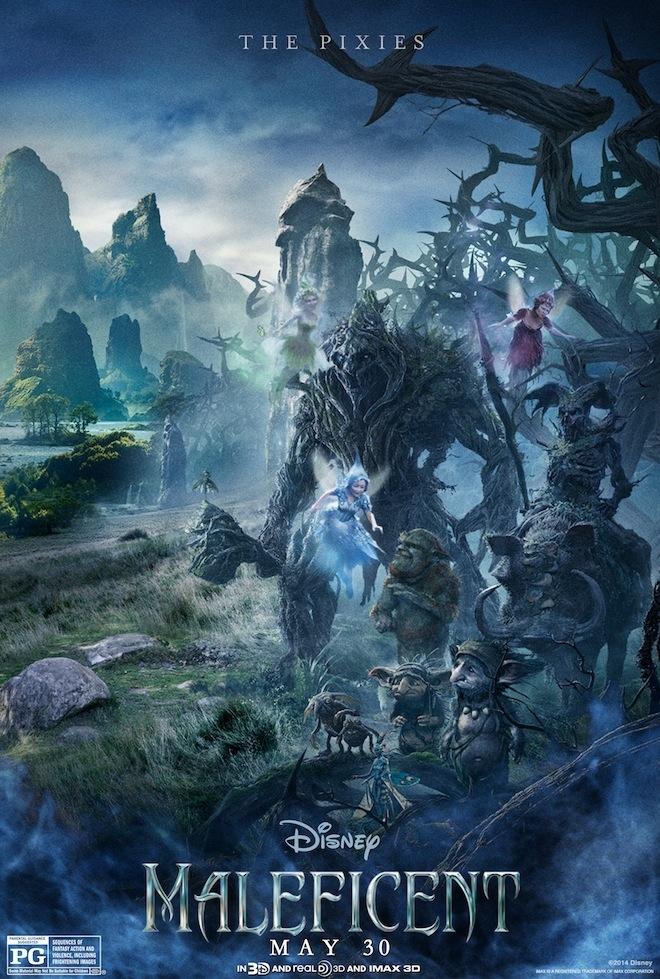 Maleficent: il character poster dedicato alle creature del regno incantato