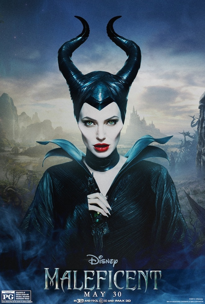 Maleficent: il character poster di Angelina Jolie
