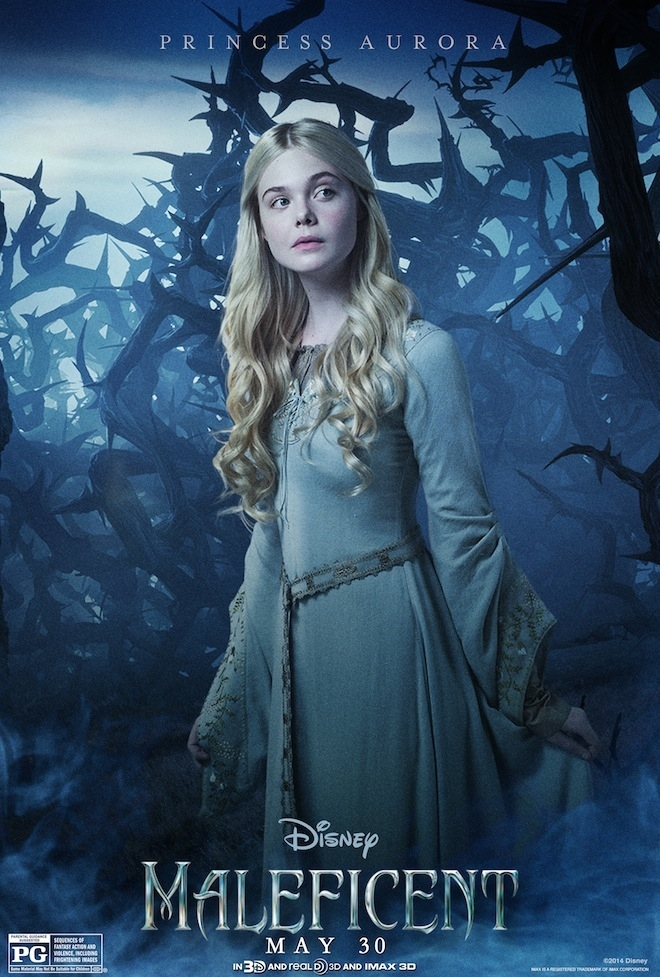 Maleficent: il character poster di Elle Fanning