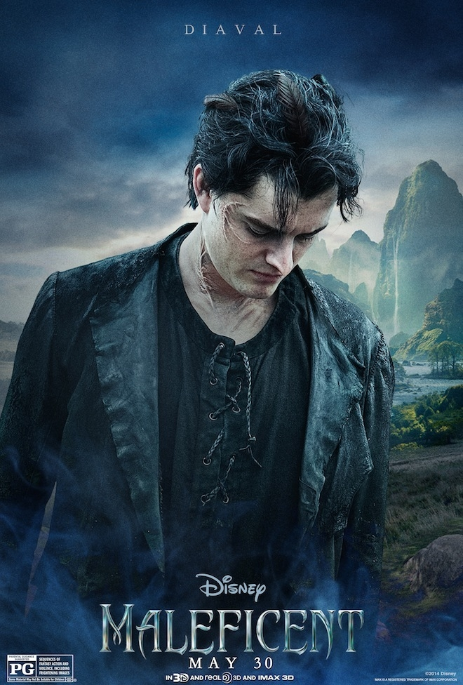 Maleficent: il character poster di Sam Riley