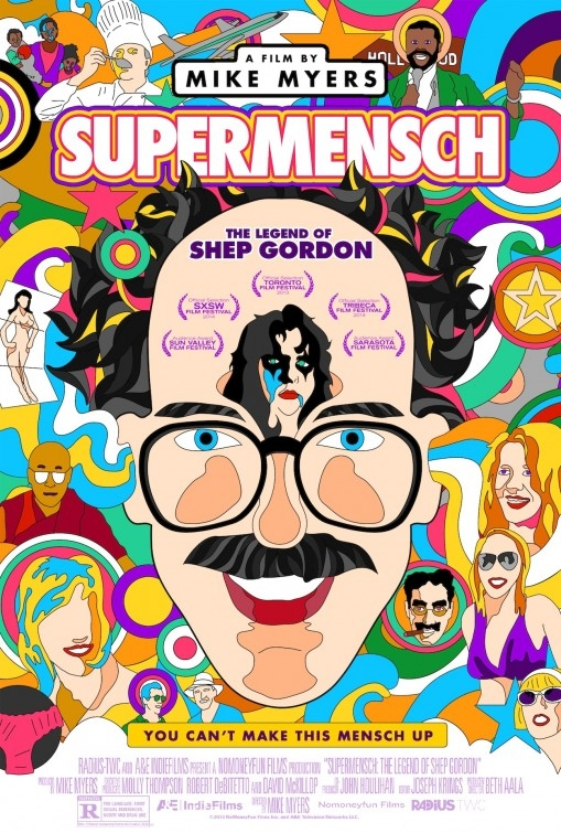 Supermensch: The Legend of Shep Gordon: la locandina del film