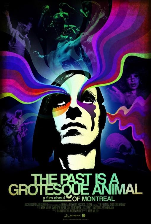 The Past is a Grotesque Animal: la locandina del film