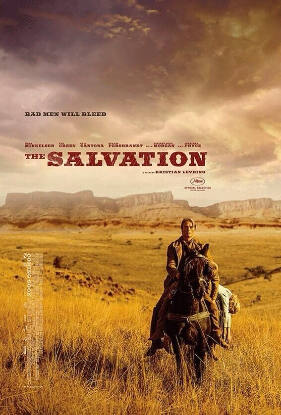 The Salvation: la locandina del film