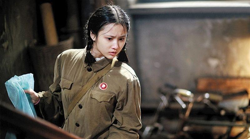 Coming home: Zhang Huiwen in una scena