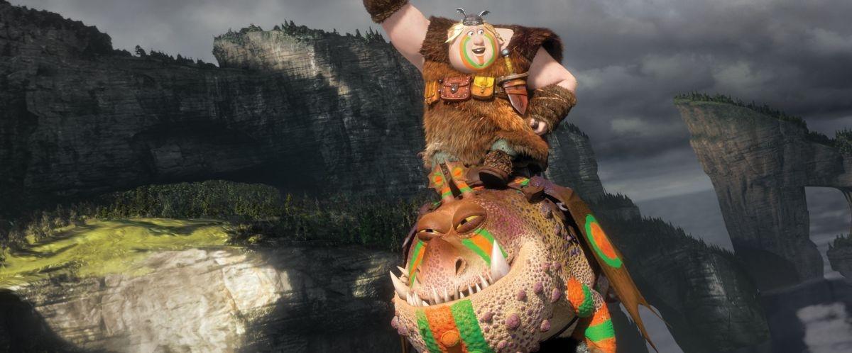 Dragon Trainer 2: una simpatica scena del film