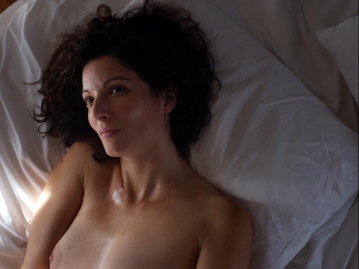La chambre bleue: Stéphanie Cléau in una scena