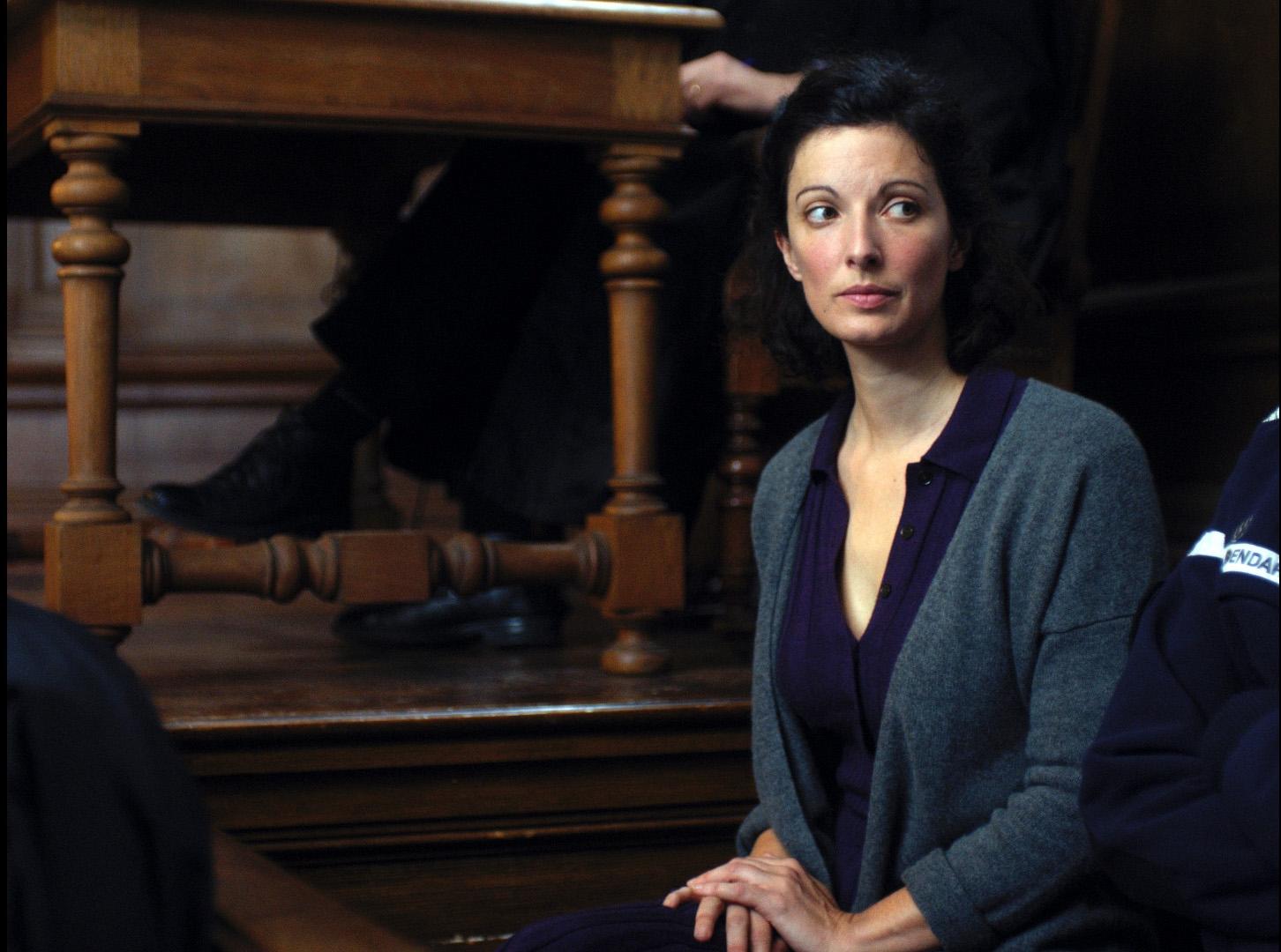 La chambre bleue: Stéphanie Cléau in una scena del film