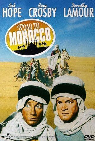 La locandina di Avventura al Marocco