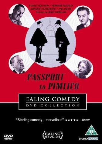 La locandina di Passaporto per Pimlico