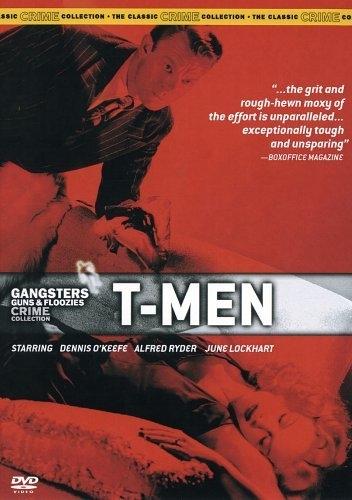 La locandina di T-Men contro i fuorilegge
