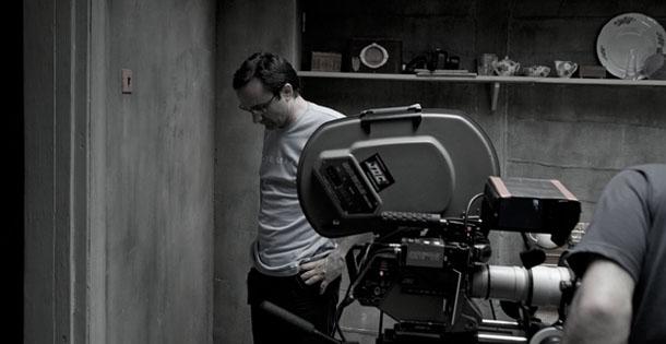 Leviathan: il regista Andrei Zvyagintsev in una foto dal set