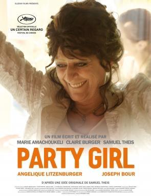 Party Girl: la protagonista del film in un primo piano