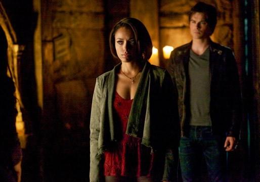 The Vampire Diaries: Kat Graham e Ian Somerhalder nell'episodio Home, finale della quinta stagione