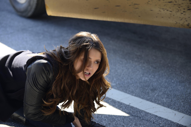 The Vampire Diaries: Nina Dobrev in una scena dell'episodio Promised Land
