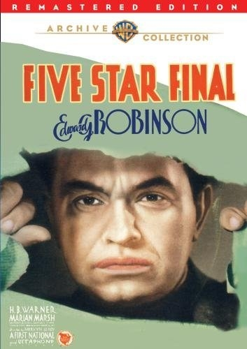 La locandina di Five Star Final