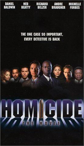 La locandina di Homicide: The Movie