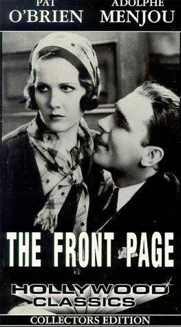 La locandina di The Front Page