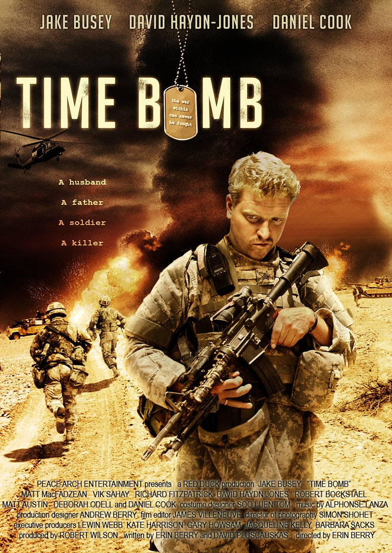 La locandina di Time Bomb