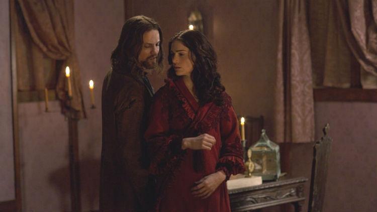 Salem: Shane West, Janet Montgomery nell'episodio The Stone Child