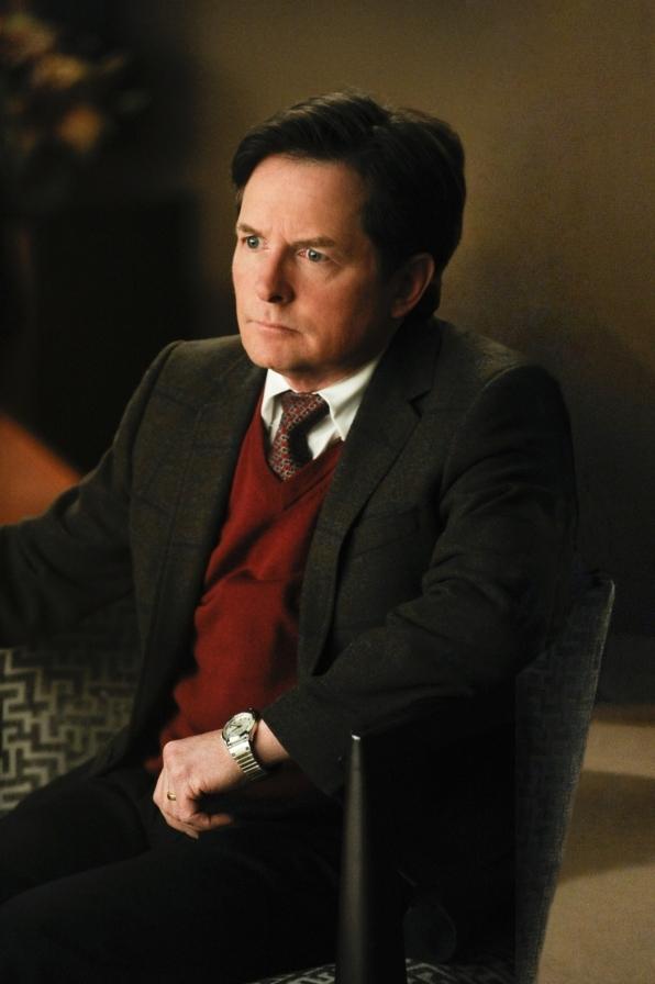 The Good Wife: Michael J. Fox in una scena di The Deep Web