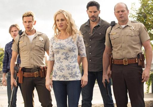 True Blood: Anna Paquin, Chris Bauer, Ryan Kwanten, Joe Manganiello, Sam Trammell nell'episodio I Found You