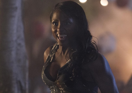 True Blood: Rutina Wesley in una scena dell'episodio Jesus Gonna Be Here