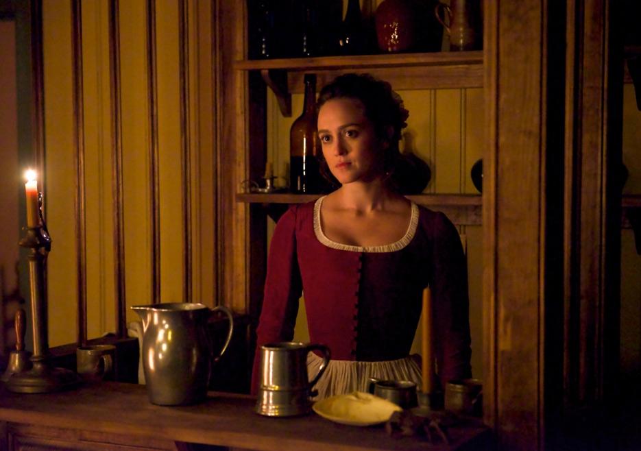 TURN: Heather Lind in una scena dell'episodio Who By Fire