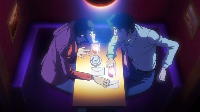 Lupin the 3rd vs Detective Conan: The Movie - Lupin in trattativa con un altro criminale