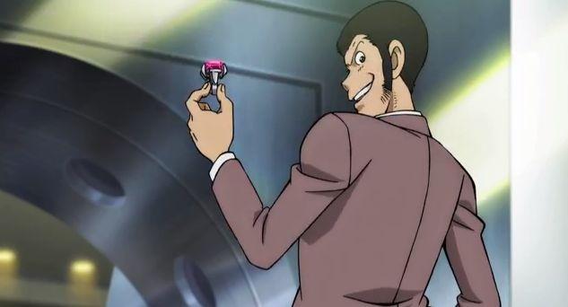 Lupin the 3rd vs Detective Conan: The Movie - Lupin stringe in mano una preziosa pietra