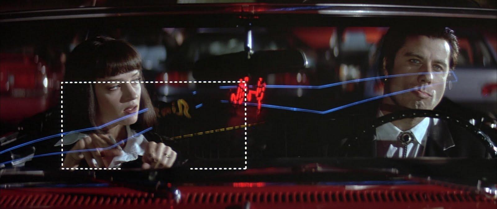 'Hey Daddy-O, don't be a...' - Uma Thurman e John Travolta in Pulp Fiction