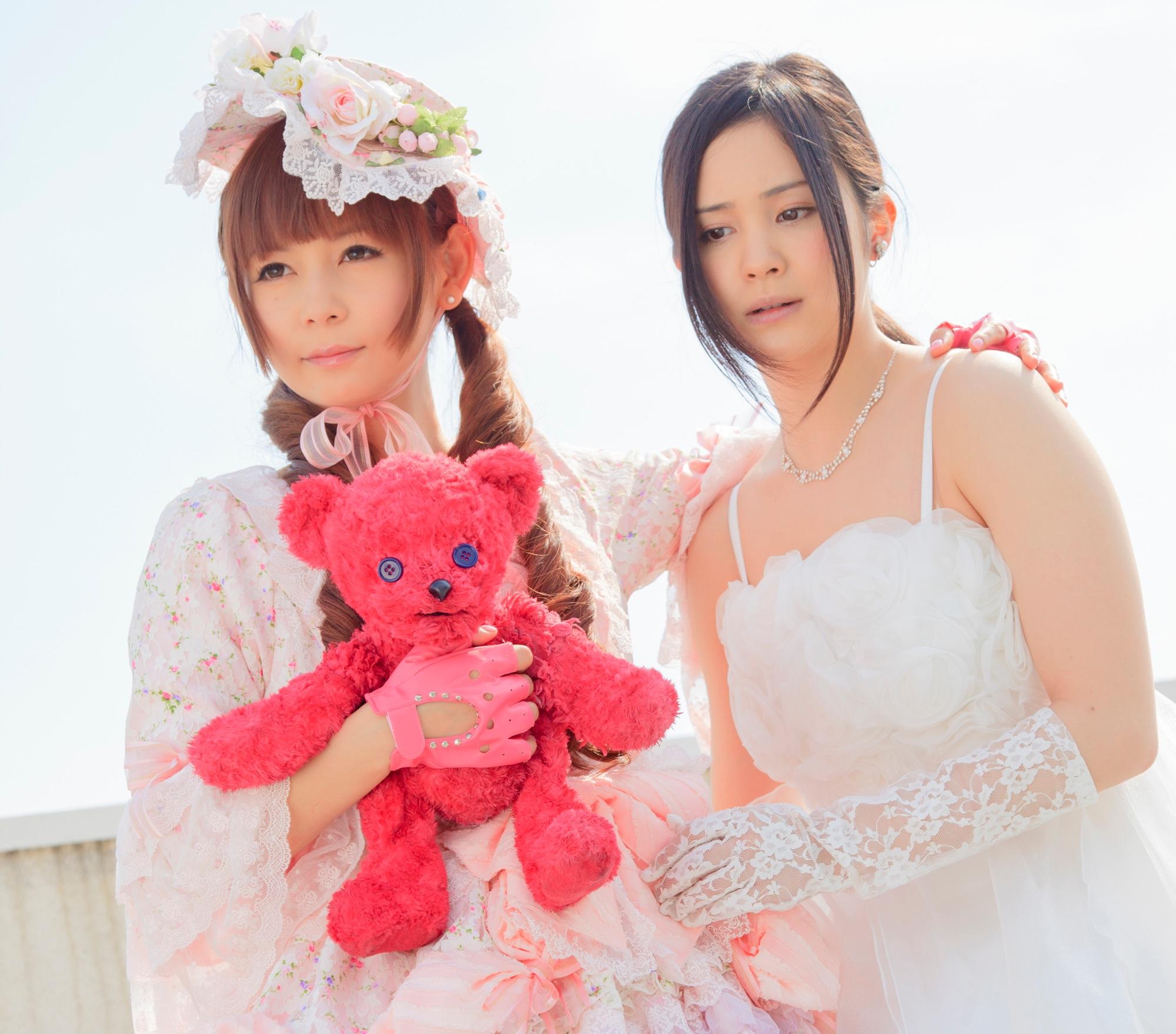 Gothic Lolita Battle Bear: Shôko Nakagawa insieme a Mao Ichimichi
