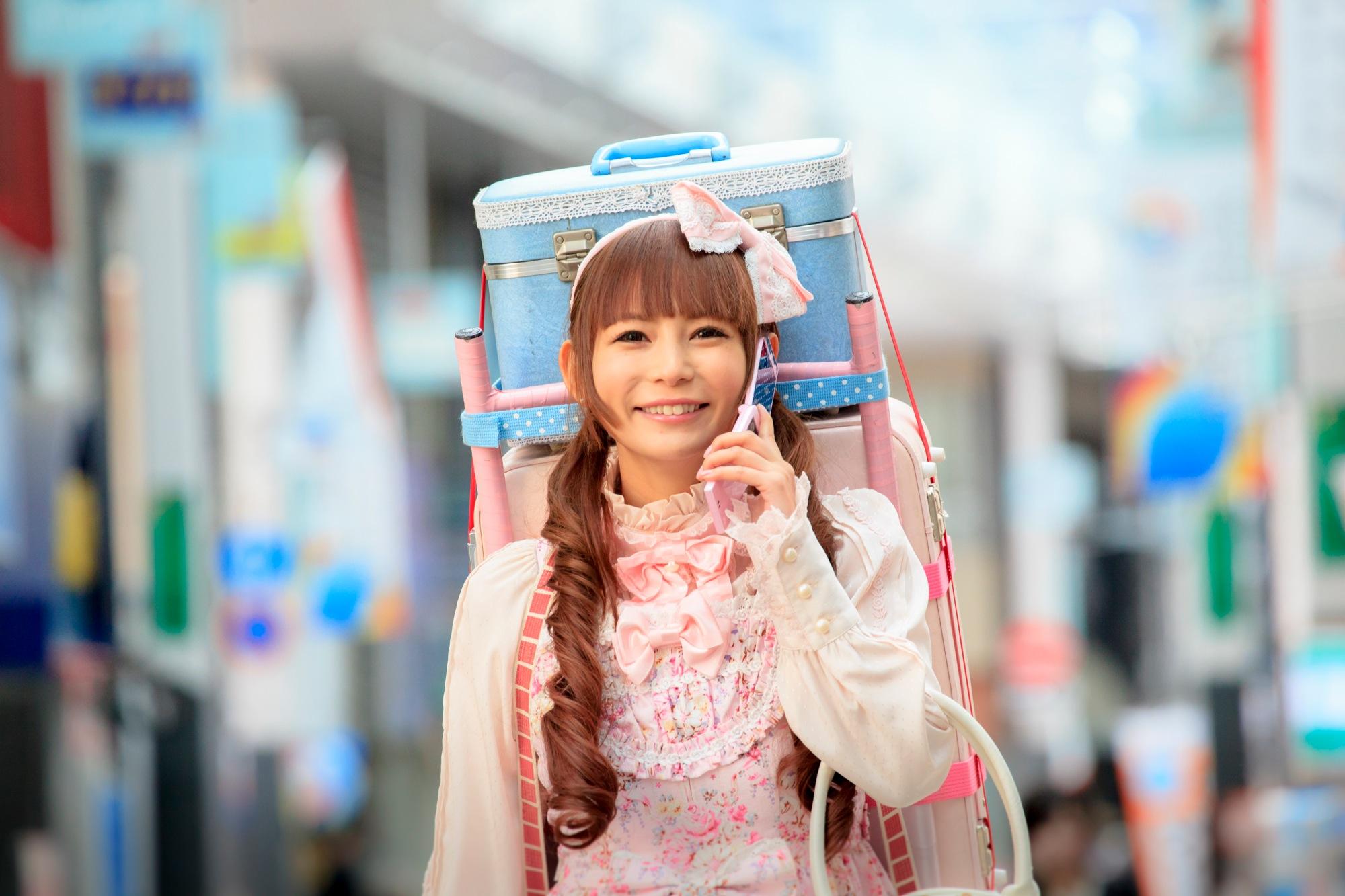 Gothic Lolita Battle Bear: Shôko Nakagawa in giro per la città