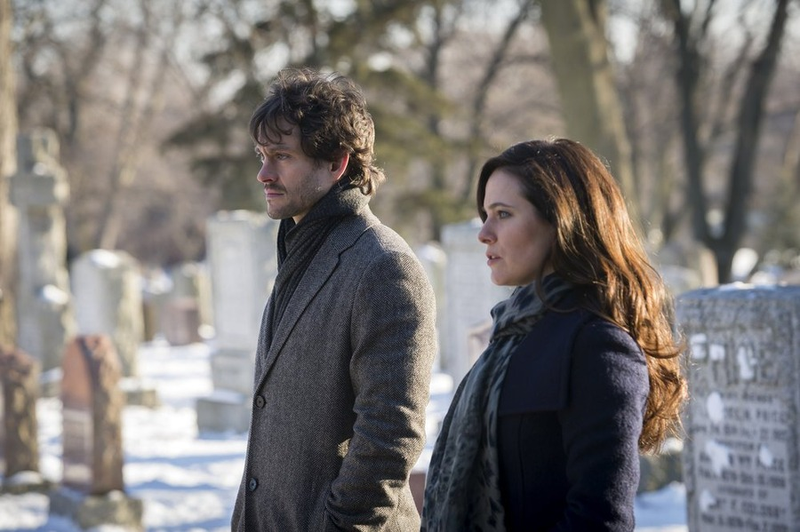 Hannibal: Hugh Dancy e Carline Dhavernas nell'episodio Ko No Mono