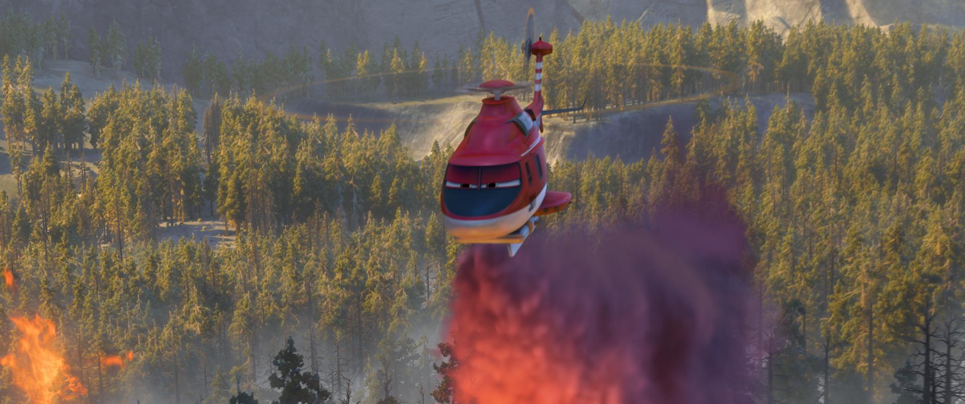 Planes 2 - Missione Antincendio: una scena tratta dal film d'animazione