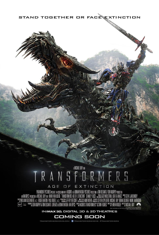 Transformers 4: L'era dell'estinzione, il poster internazionale