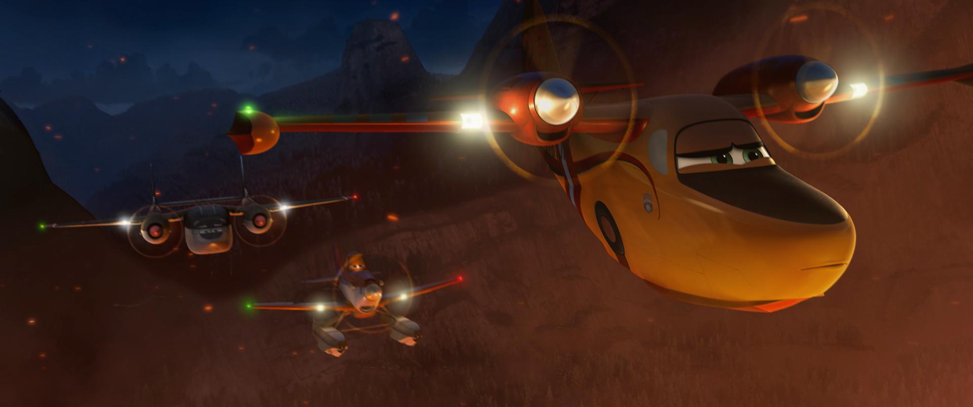 Planes 2 - Missione Antincendio: una scena