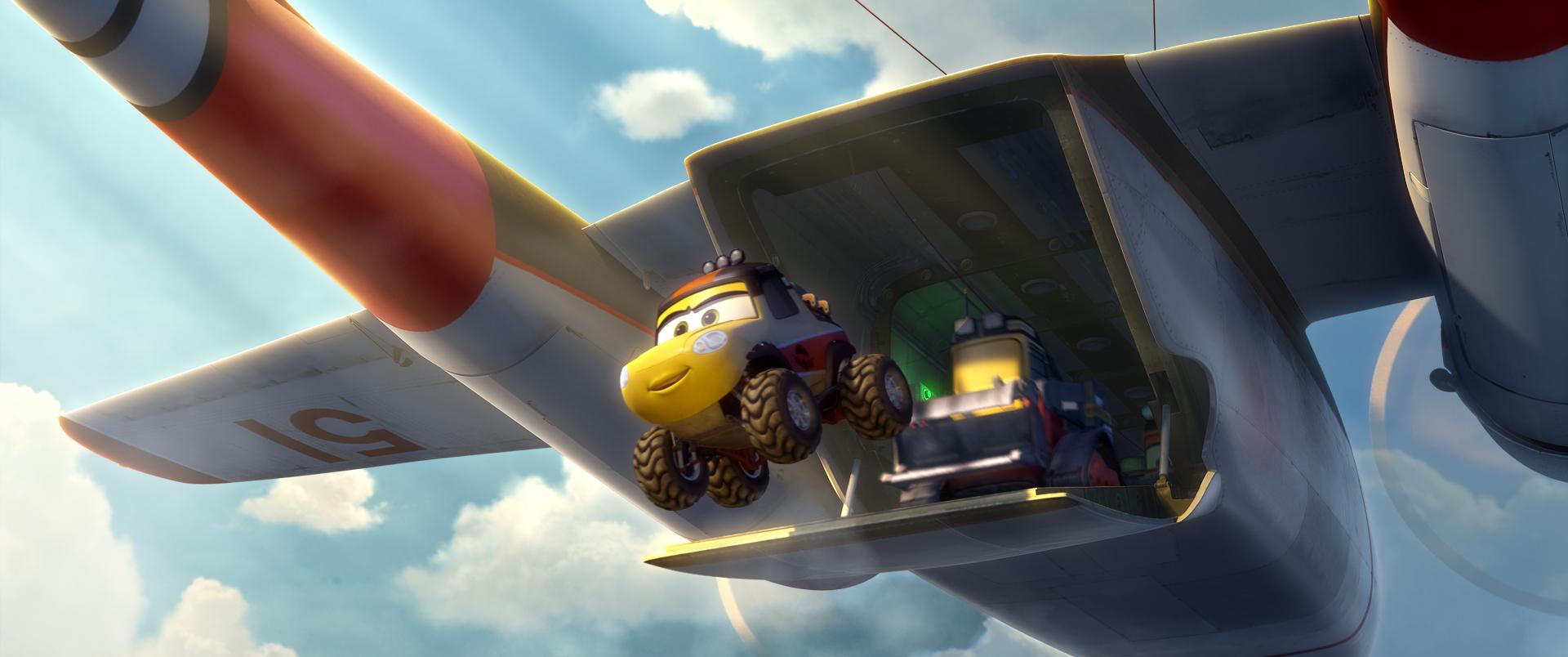 Planes 2 - Missione Antincendio: una colorata immagine del film d'animazione