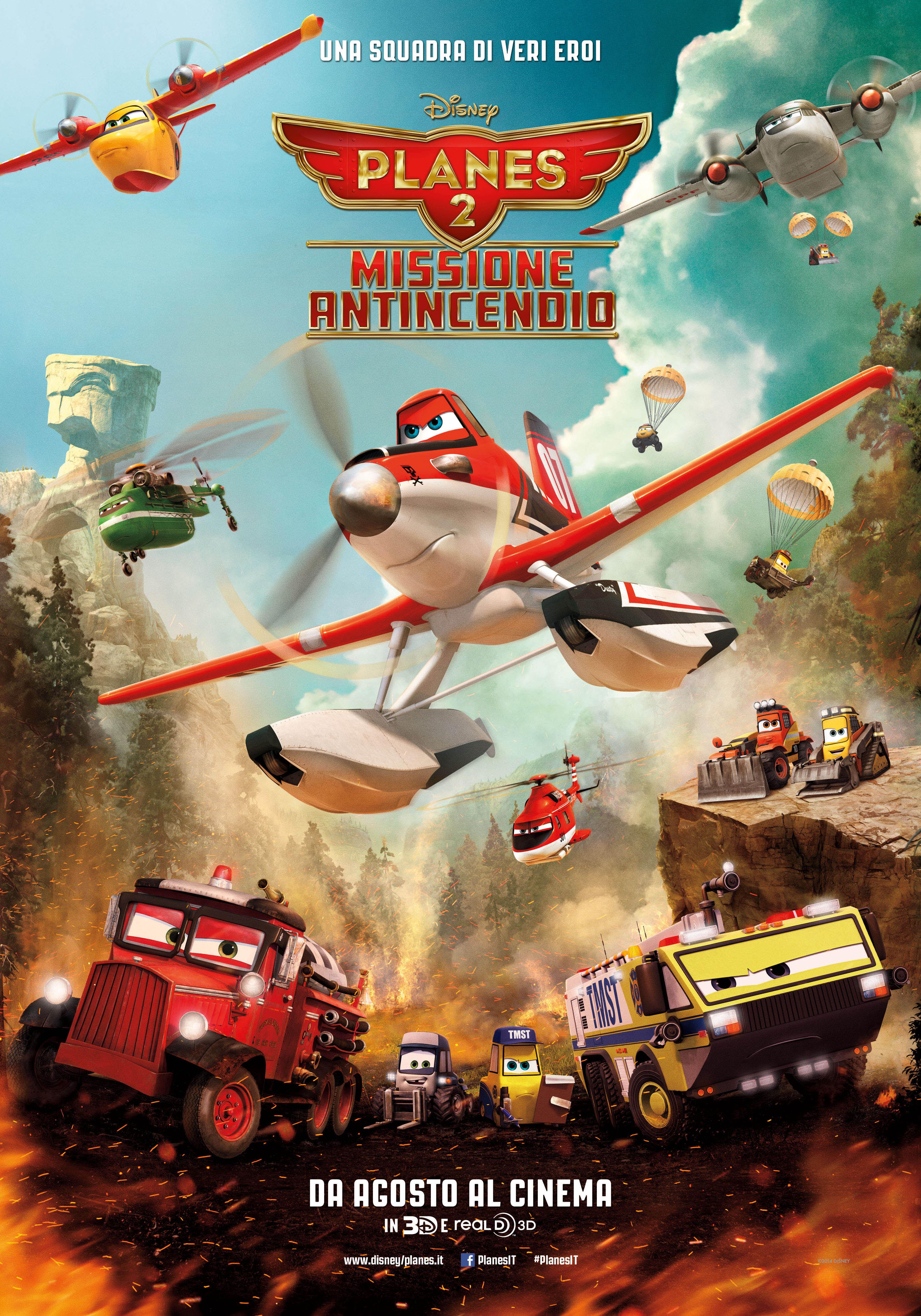 Locandina di Planes 2 - Missione Antincendio