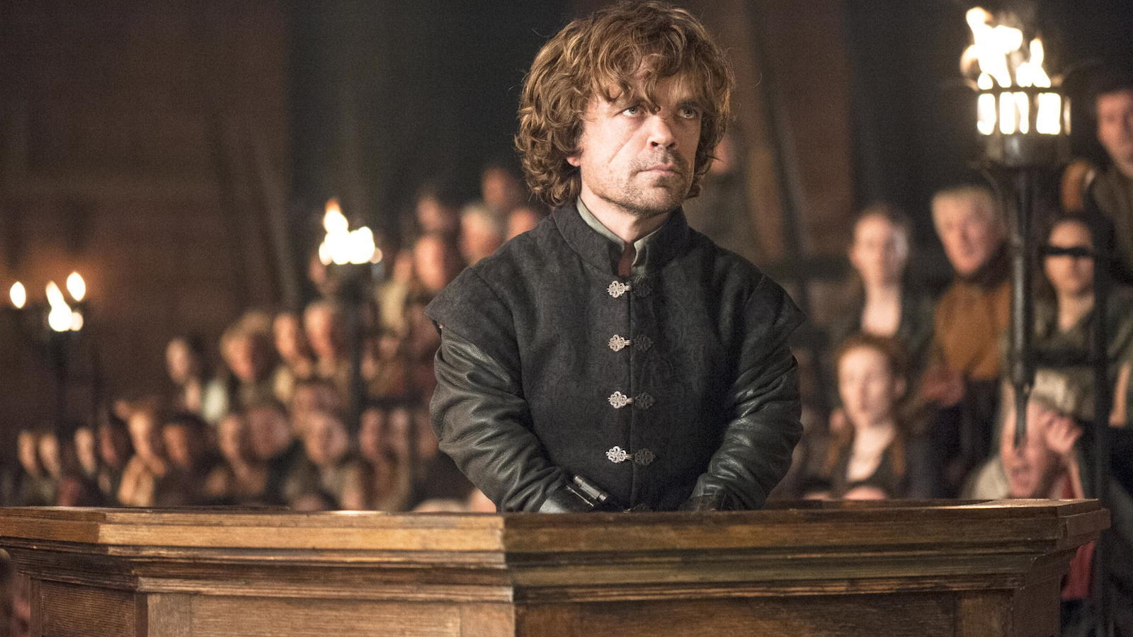 Il trono di spade: Peter Dinklage nell'episodio The Laws of Gods and Men